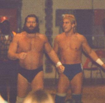 Terry and Hacksaw Jim Duggan
